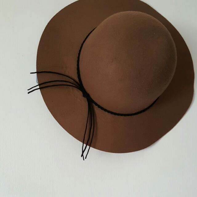 Macy's Brown Floppy Hat