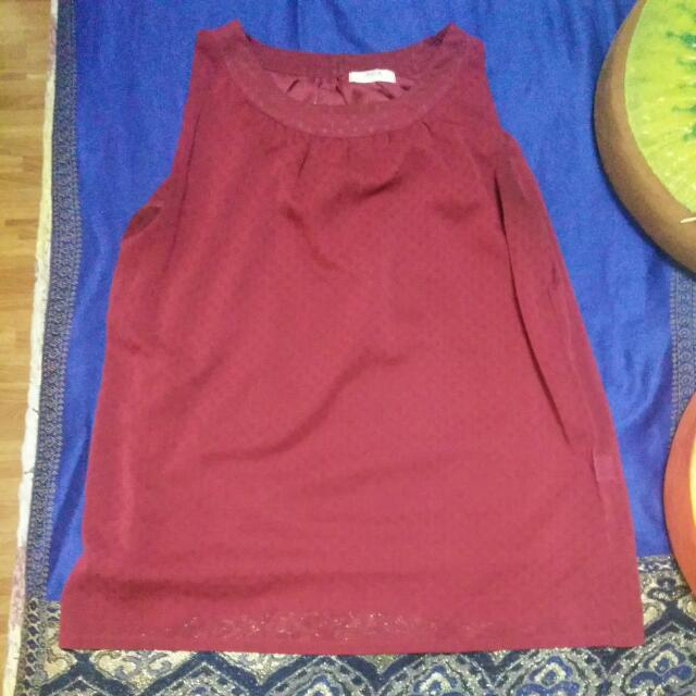 Maroons blouse L Large.
