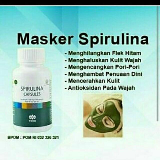 Masker Spirulina Ori Tiens