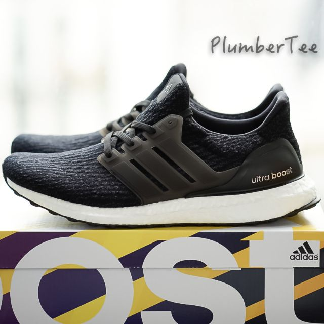 5673e0170b213 US10 UK9.5 EU44 Men Adidas Ultra Boost Core Black 3.0
