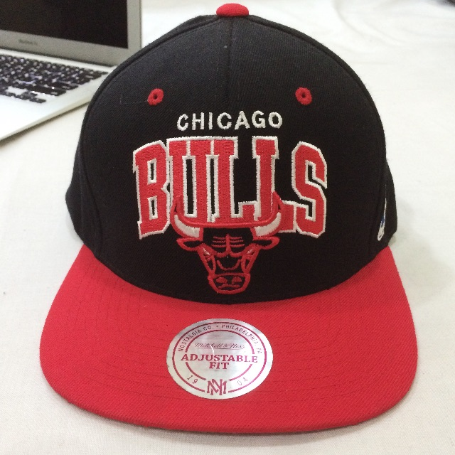Mitchell & Ness NBA SNAPBACK - 芝加哥公牛隊