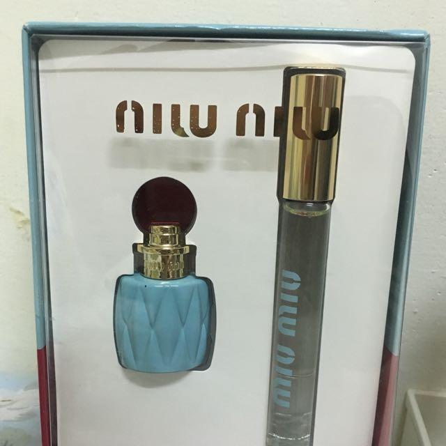 Miu Miu香水禮盒