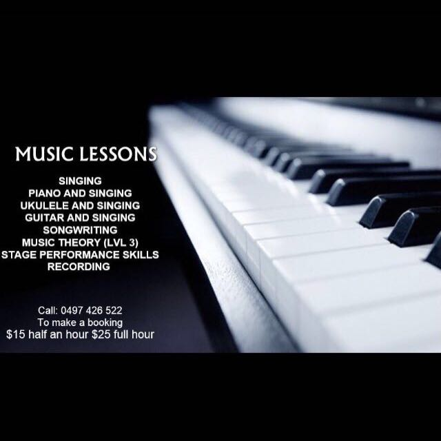 MUSIC LESSONS :))))