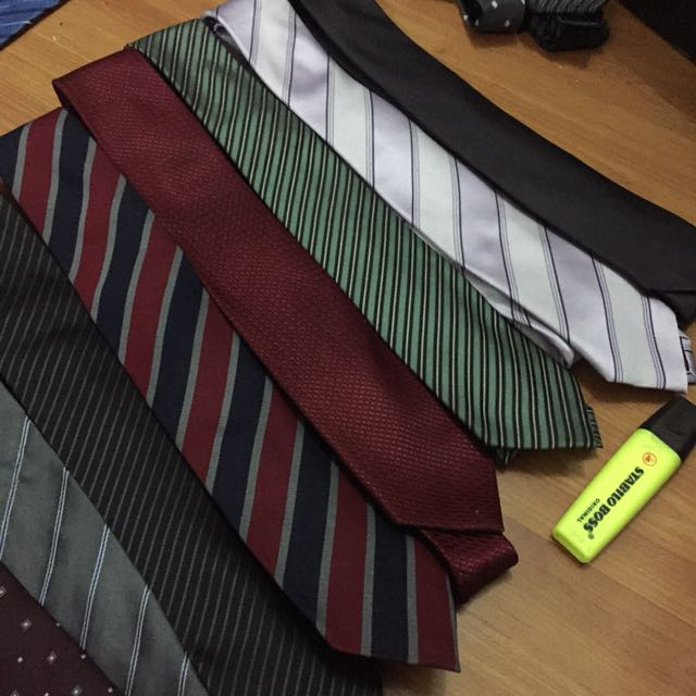 Necktie SET 9pcs slim