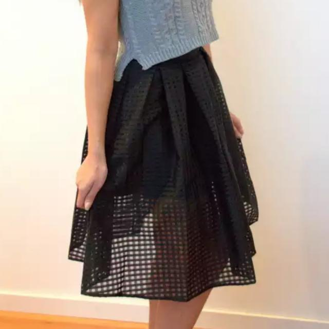 New With Tags Black Skirt Size L