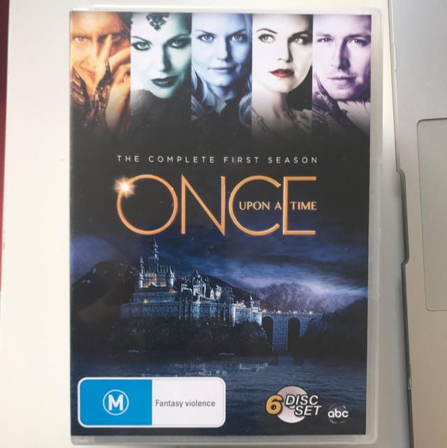 Once Upon A Time Season 1 DVD