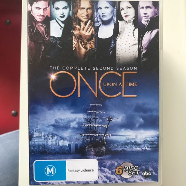 Once Upon A Time Season 2 DVD