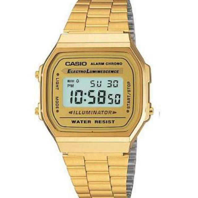 Original Casio A168