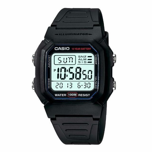 Original Casio W800H