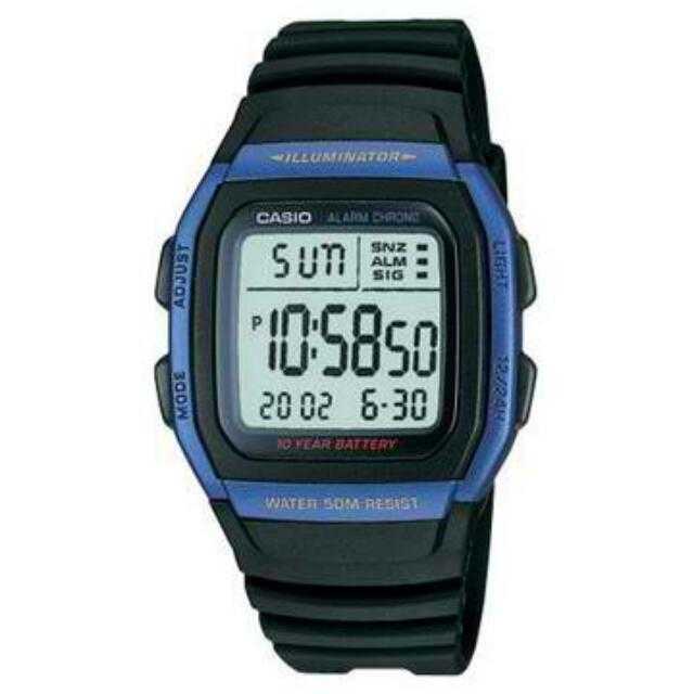 Original Casio W96H