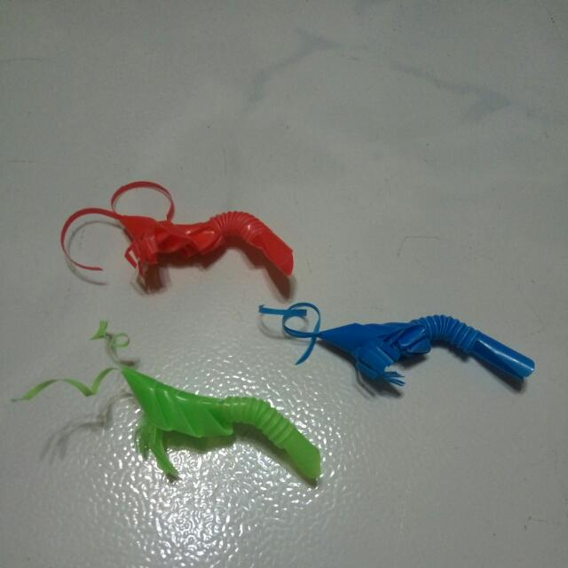 Plastic Origami Shrimp Design Craft Others On Carousell