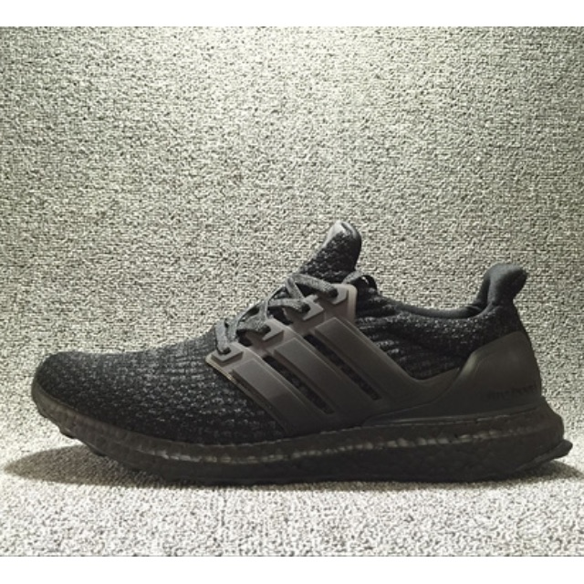 PO  Adidas Ultra Boost 3.0 Triple Black 9901e7aeb