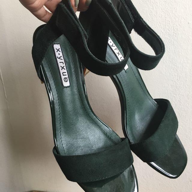 Preloved Suede Sandals