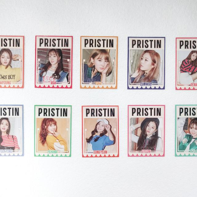 Pristin Profile Card Set