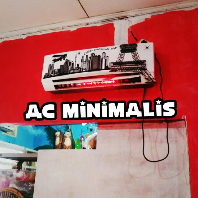 Promo Ac Dinding Ac Minimalis Gel Mobile Phones Tablets On Carousell