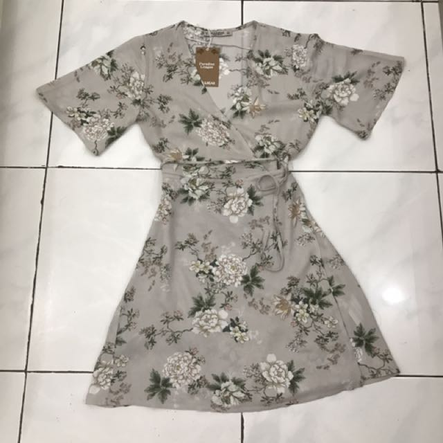 Pull & Bear Flower Dress