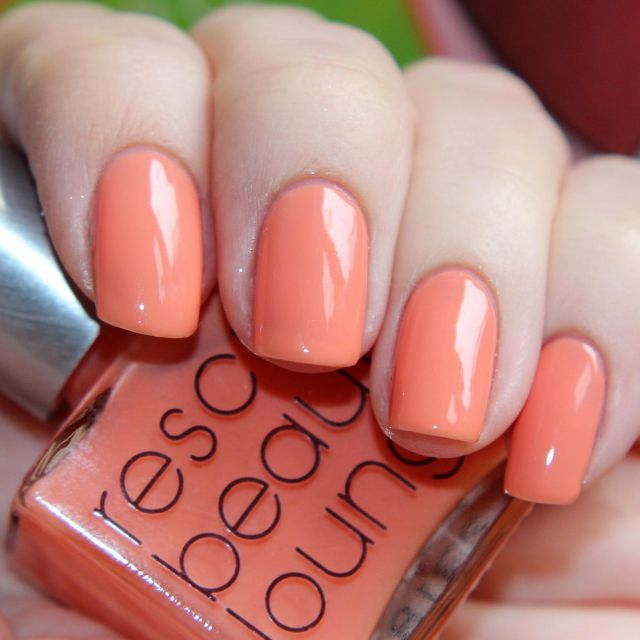 RBL Starfish Patrick Rescue Beauty Lounge Coral Pink Jelly Nail ...