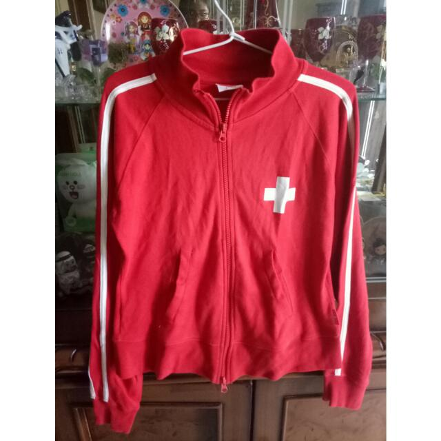 Red Swiss Jacket