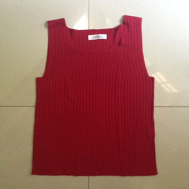 Red Tanktop