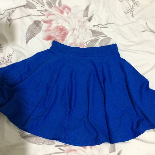 Royal Blue Skater skirt