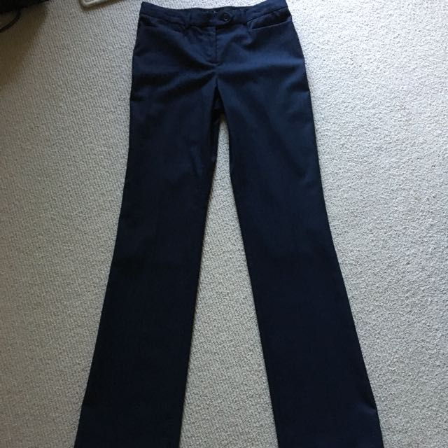 SABA Pants, Navy, Size 8