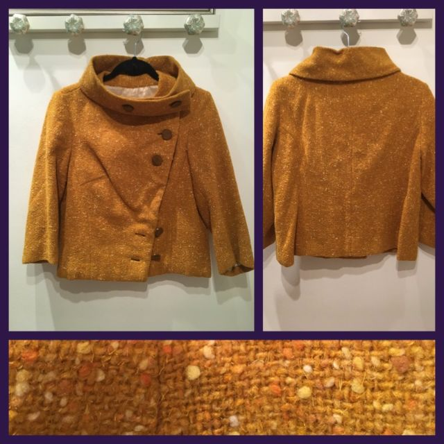 Size S/M - Vintage tweed jacket
