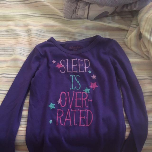 Sleep is over rated Long Sleeves