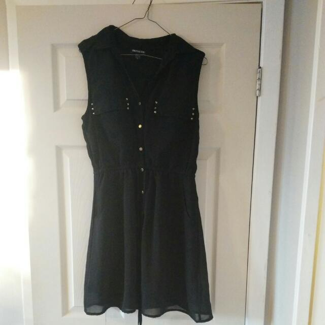 REDUCED! Sleeveless Black Dress
