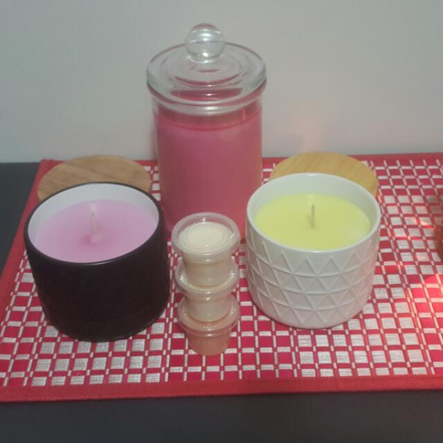 Soy Wax Candles And Melts