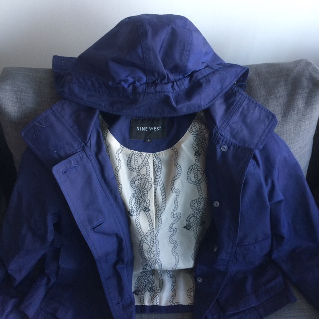 Spring Jacket With Hood
