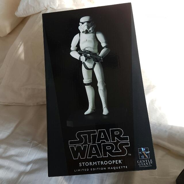 Star Wars Stormtrooper Limited Edition Maquette