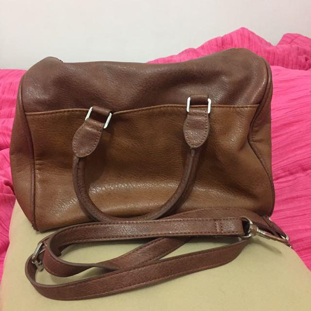 Stradivarius Brown Bag