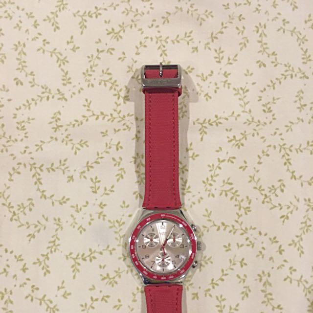 SWATCH original ruby red