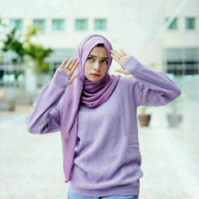 Sweater Rounhand/Rajut/Cewek