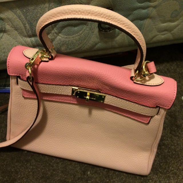 Sweet Pink tophandle/sling Bag