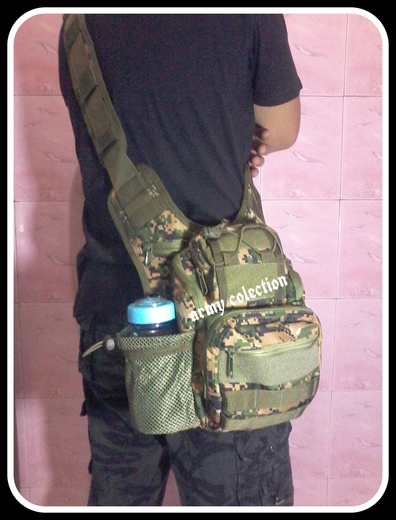 Tas Slempang Army Type 803 Mini Warna Marpat Digital Ijo Sports Pria Import T1 Athletic Clothing On Carousell