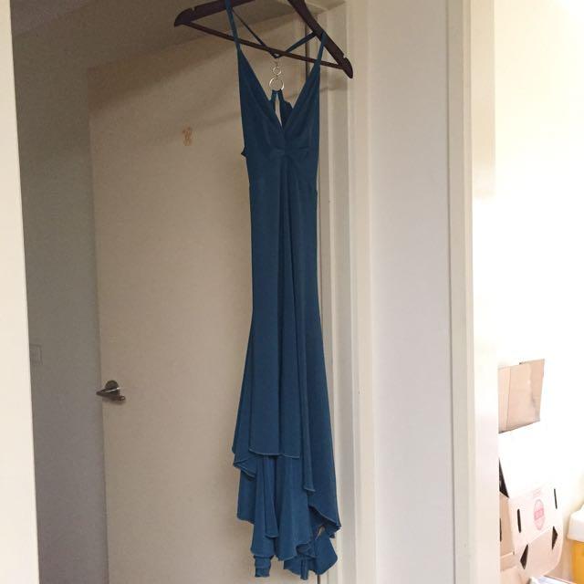 Teal Dress Sz 8
