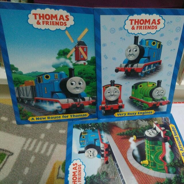 Thomas & Friends Colouring Book, Books & Stationery, Fiction On Carousell