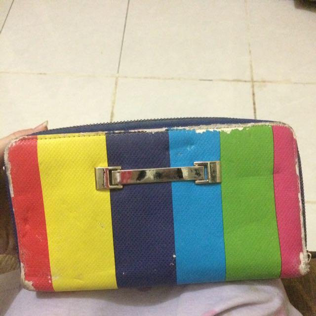 #tisgratis Rainbow Wallet