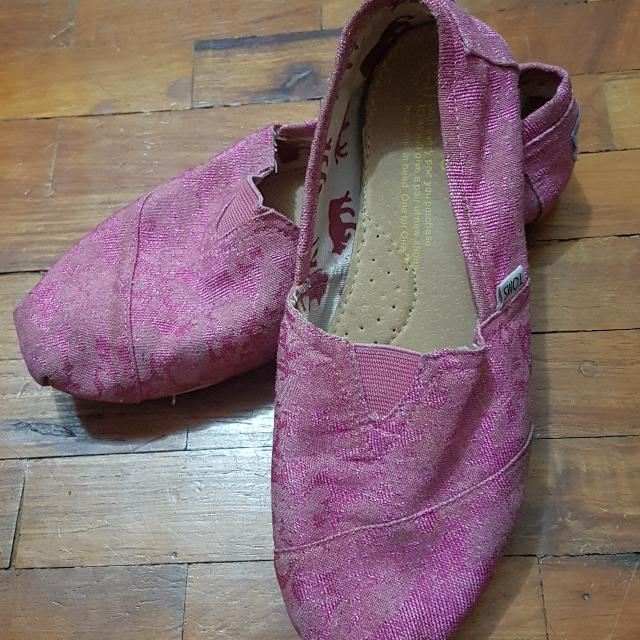 TOMs Pink ( Available) And Multicolored (Reserved)