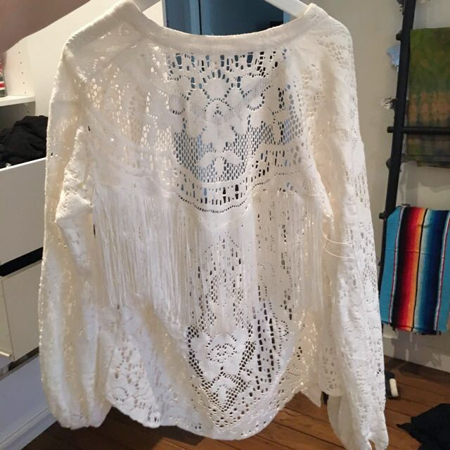 Vintage Crochet Spell & The Gypsy Collective Cardigan/Jacket