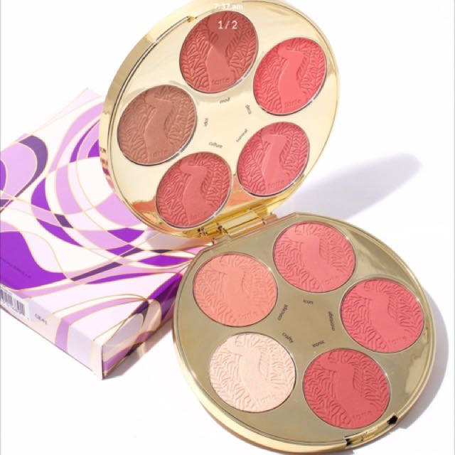 WANTED Tarte Blush Colour Wheel