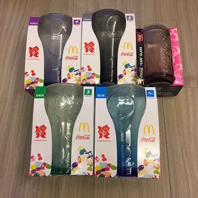 麥當勞x可口可樂 曲線杯