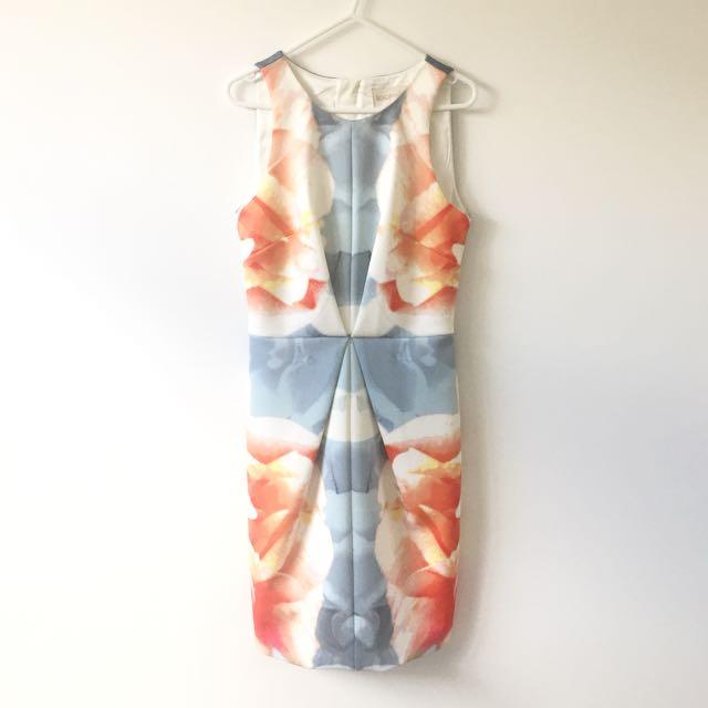 XS Keepsake The Label Print Dress