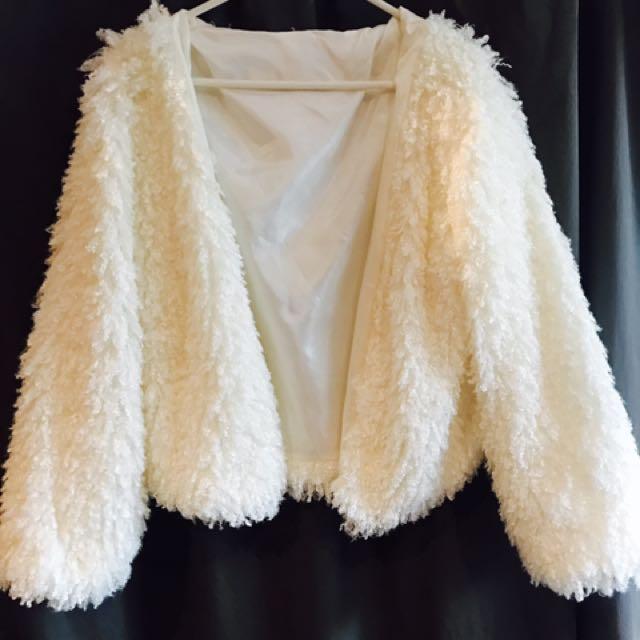 Yarn Fur Coat