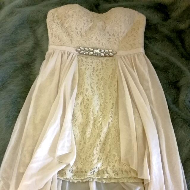 Yaya & Co. Elegant Long White Dress