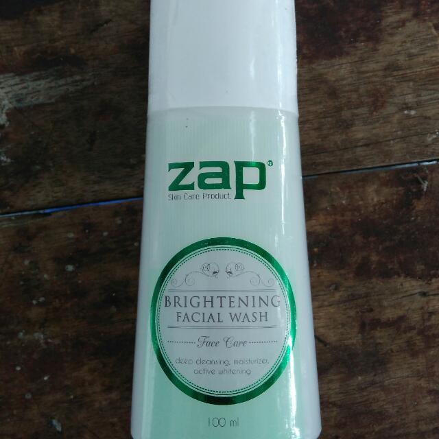 ZAP Brightening facial wash