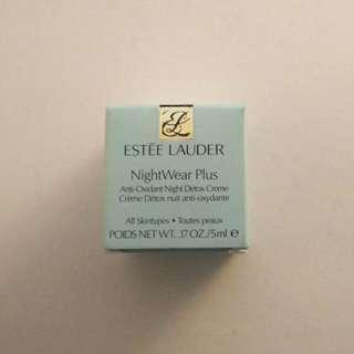 Estee Lauder Nightwear Plus Night Detox Cream 5ml