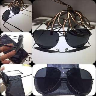 Classic Black Glasses