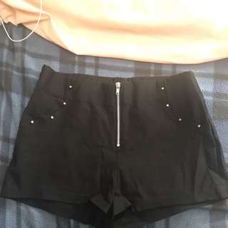 Black Shorts w/ Studs (Small)